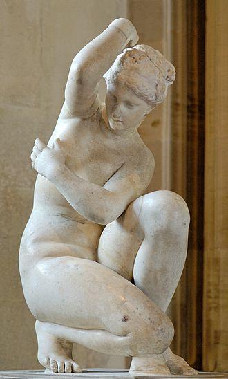 Crouching Venus - Vénus Accroupie (Musée du Louvre)