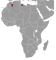 Ctenodactylus vali range map.png