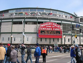 Deutsch: Wrigley-Field, Chicago (IL)