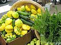 Cucurbita pepo scallop Squash and Dandelion Greens.jpg