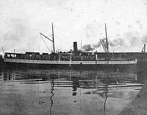 Cutch (steamship) - Cutch in 1898 following reconstruction