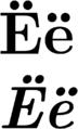 Cyrillic YO.png