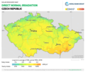 Czech-Republic DNI Solar-resource-map GlobalSolarAtlas World-Bank-Esmap-Solargis.png