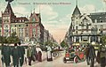 Düsseldorf, Nordrhein-Westfalen - Wilhelmplatz mit Kaiser-Wilhelm-Straße (Zeno Ansichtskarten).jpg