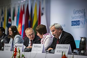DCAF - Image: DCAF at 2014 OSCE PA Autumn Meeting, Geneva