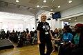 DFID volunteers at Youth For Change (14689479112).jpg