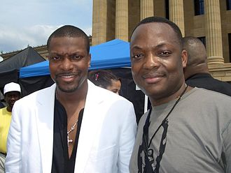 DJ Abass - Dj Abass with Chris Tucker
