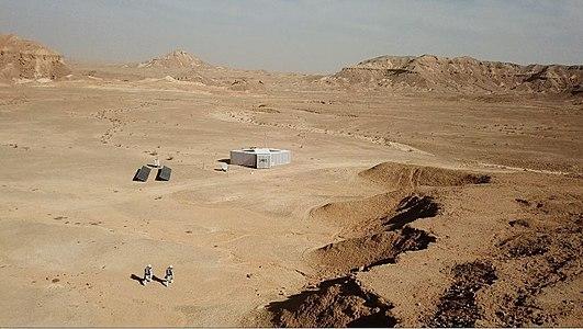 D-Mars Analog EVA, Ramon Crater, Israel