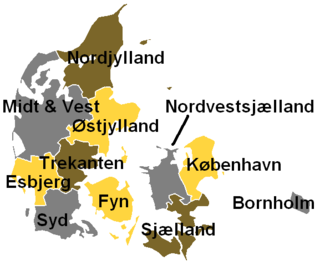 DR P4 - The regions in 2011