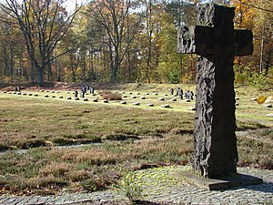 Lohheide - German war cemetery in Bergen-Hohne camp