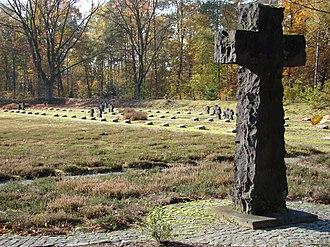 Lohheide - German war cemetery in Bergen-Hohne camp