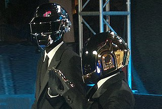 Daft Punk French electronic music duo