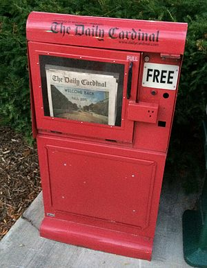 The Daily Cardinal - Image: Daily Cardinal Box
