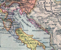 The Adriatic in 1560, with Dalmatia and Zadar