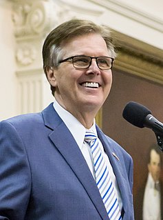 Dan Patrick (politician) American politician and radio host