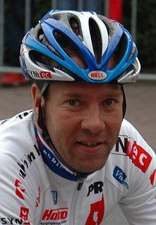 Danny Stam Dutch racing cyclist