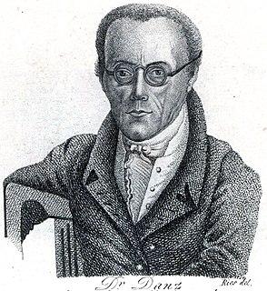 Johann Traugott Leberecht Danz German theologian