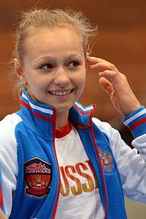 Daria Spiridonova Russian artistic gymnast
