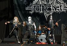 Dark Funeral, festival Wacken Open Air 2012