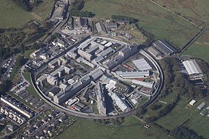 HM Prison Dartmoor - Image: Dartmoor Prison from the air