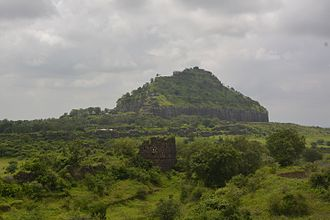 Seuna (Yadava) dynasty - The hill of Devagiri, the capital of Yadavas