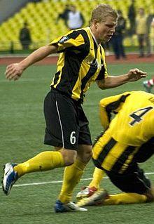David Frölund Swedish footballer