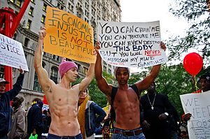 Day 40 Occupy Wall Street October 25 2011 Shankbone 8.JPG