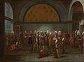 De maaltijd aangeboden aan ambassadeur Cornelis Calkoen Rijksmuseum SK-A-4077.jpeg