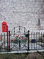 Decorative Gate and Edward VII Postbox - geograph.org.uk - 1713568.jpg
