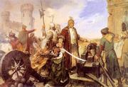 Defence of Olsztyn (Silesia) in 1587