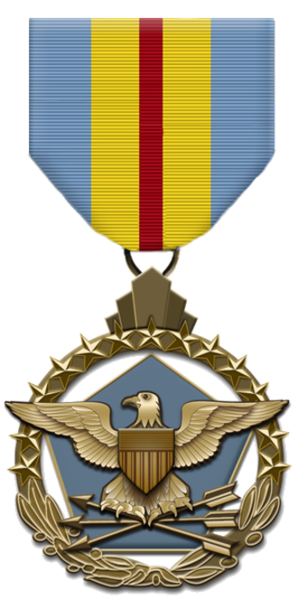 Defense Distinguished Service Medal - Obverse of the Defense Distinguished Service Medal
