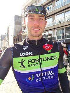 Boris Vallée Belgian cyclist