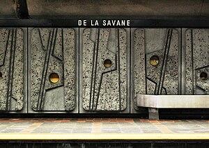 De La Savane station - De La Savane Station