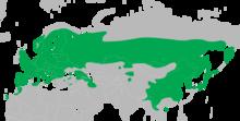 Dendrocopos major distribution map.png