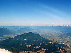 View departing Abbotsford Airport