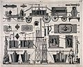 Depictions of types of fire-engines and different parts ther Wellcome V0039401.jpg
