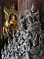 Detail of Interior Woodwork - Shwe In Bin - Teak Monastery.jpg
