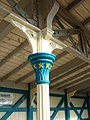 Detail of pillar, Chepstow station - geograph.org.uk - 1356365.jpg