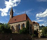 Deutschhauskirche in Bozen (St. Georg in Weggenstein) - Südostansicht.JPG