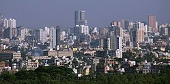Skyline of Dhaka City