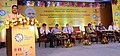 Dharmendra Pradhan addressing the gathering, at the first ever conclave on skill development initiatives in Hydrocarbon sector, on the occasion of first anniversary of Bhubaneswar Skill Development Institute, at Bhubaneswar.jpg
