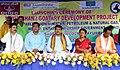 Dharmendra Pradhan at the launching ceremony of the ONGC CSR Project of Mayurbhanj Goatary Development Project, at Sankerko Village, Badasahi Block in Mayurbhanj district of Odisha.JPG