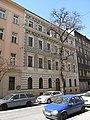 Diagnostický ústav pro mládež, Lublaňská 33, fasáda do ulice.JPG