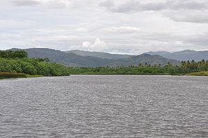 Diahot River - Diahot river downstream Ouégoa