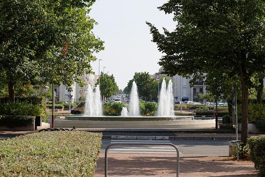 Place de la France Libre (Dijon, Côte d'Or, Bourgogne, France)