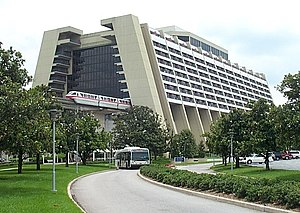 U.S. Steel - Disney's Contemporary Resort built by U.S. Steel