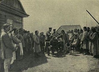 Pyotr Stolypin - Distribution of newly formed farms in Grodno governorate (1909)