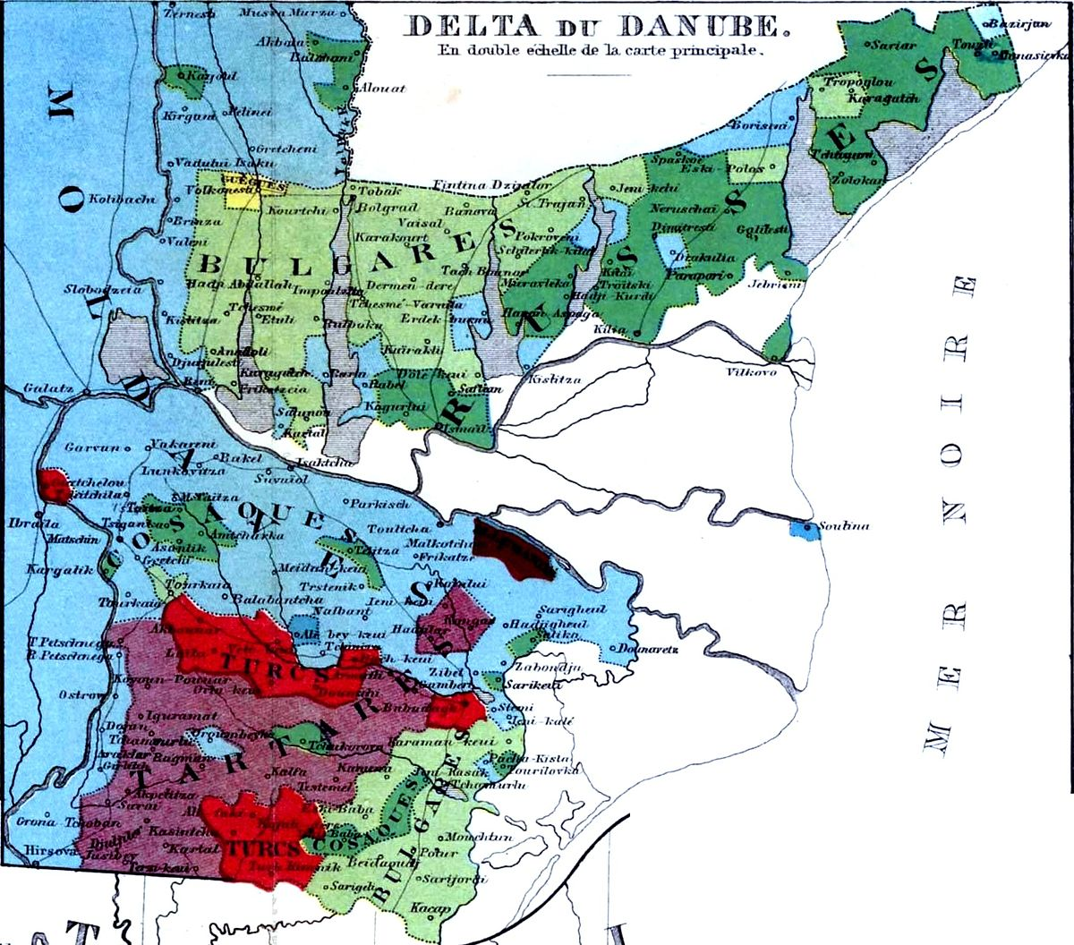 File Dobrogea Bugeac Harta Etnica 1861 Jpg Wikimedia Commons