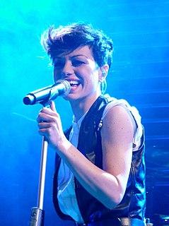 Dolcenera Italian pop singer