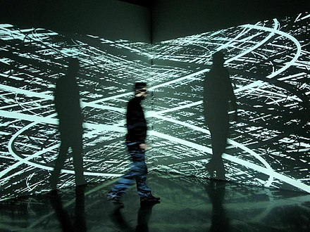 Irrational Geometrics digital art installation 2008 by Pascal Dombis Dombis 1687.jpg